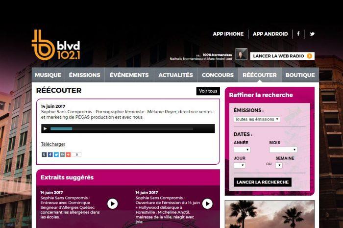 Sophie-Durocher-BLVD-Entrevue-Pegas-Productions