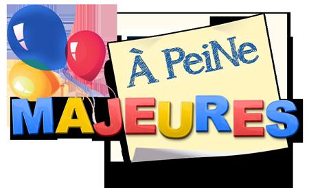 Logo À Peine Majeures reseau Pegas Productions porn