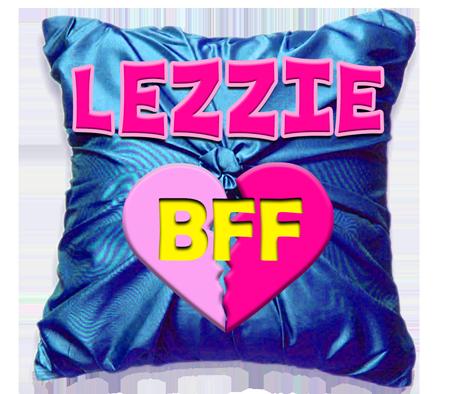 Logo Lezzie BFF reseau Pegas Productions porn