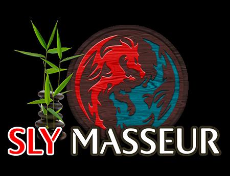 Logo Sly Masseur reseau Pegas Productions porn